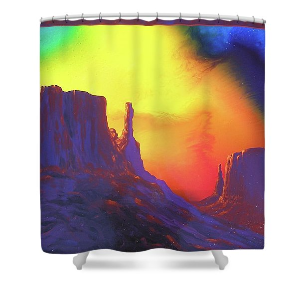 The Mittens , Psalm 19 Shower Curtain