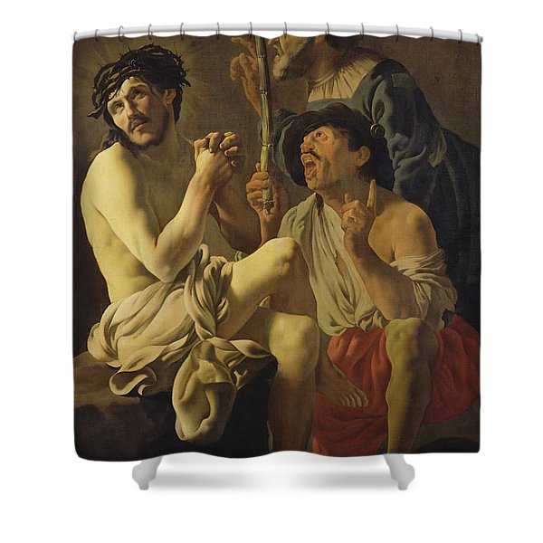 The Mocking Of Christ  Shower Curtain