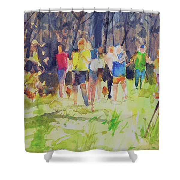 The Models  Shower Curtain