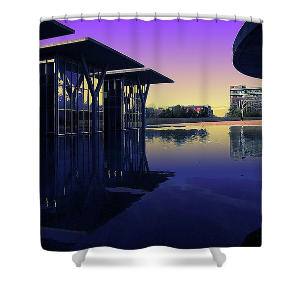 The Modern, Fort Worth, Tx Shower Curtain