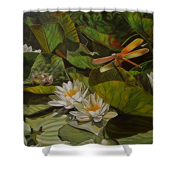 The Morning Symphony Shower Curtain