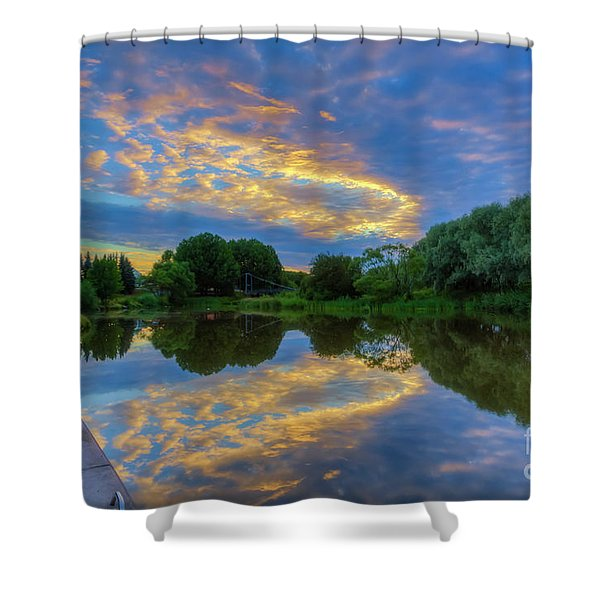 The Morning's Atmosphere 2 Shower Curtain