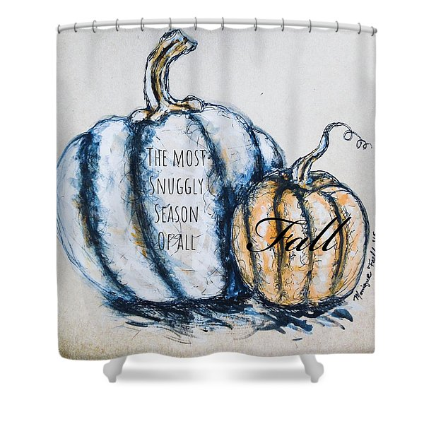 The Most Snuggly Season Of All Shower Curtain