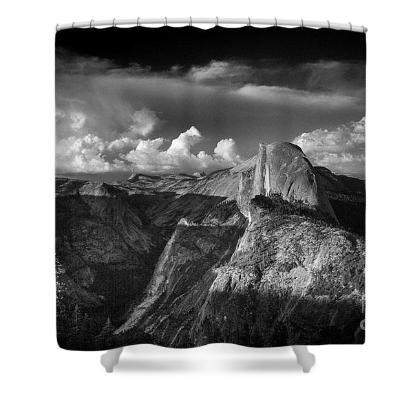 The Mountains Are Calling... Shower Curtain