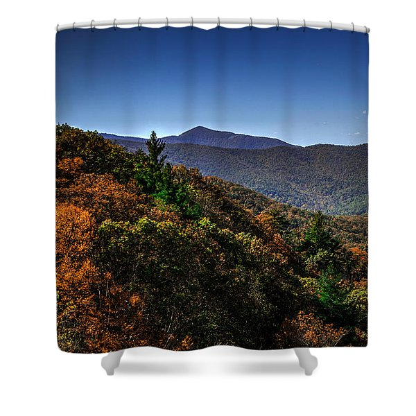 The Mountains Win Again Shower Curtain