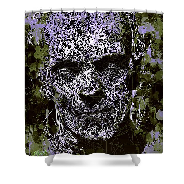 The Mummy Shower Curtain
