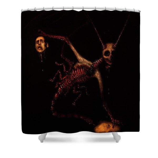 The Murder Bug - Artwork Shower Curtain