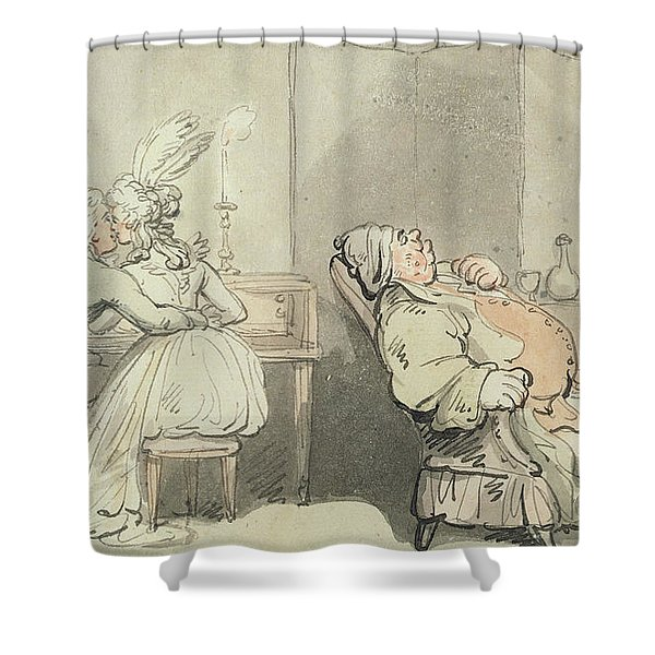 The Music Master Shower Curtain
