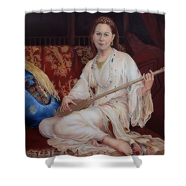 The Musician Shower Curtain