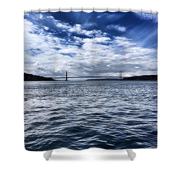 The Narrows Bridge  1 Shower Curtain