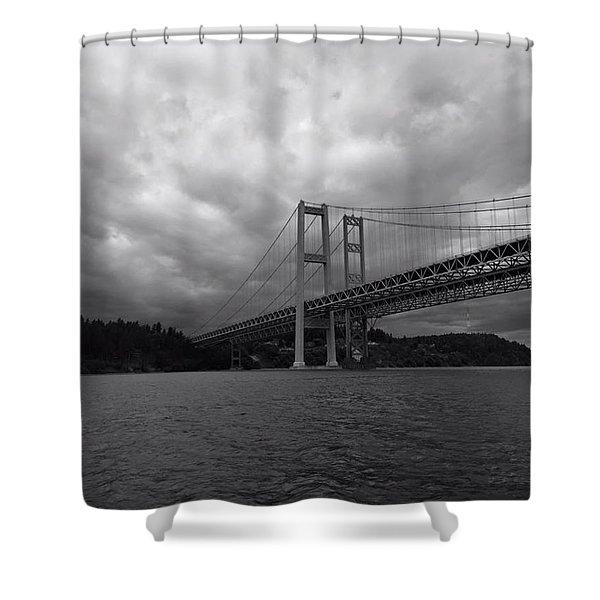 The Narrows Bridge Shower Curtain