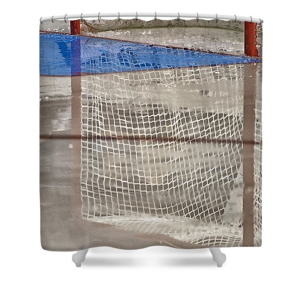 The Net Reflection Shower Curtain