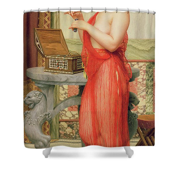 The New Perfume, 1914 Shower Curtain
