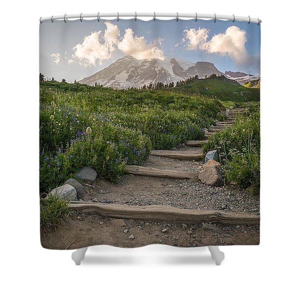 The Next Step Shower Curtain