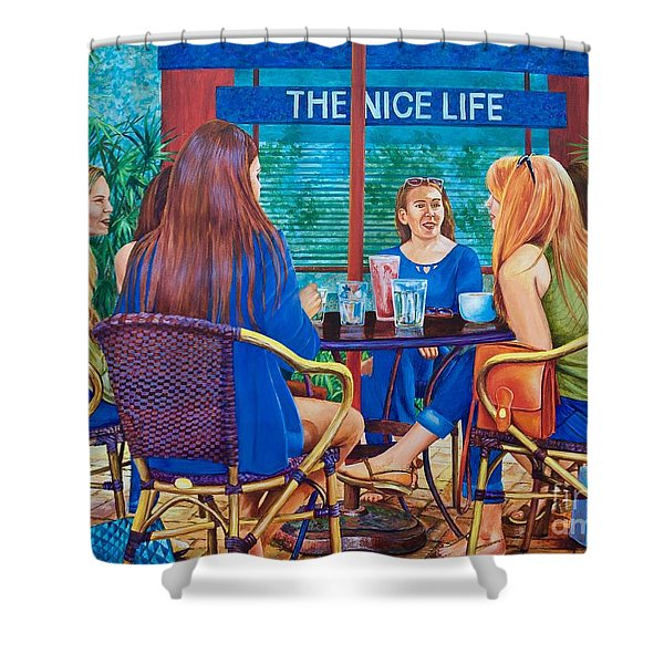 The Nice Life Shower Curtain