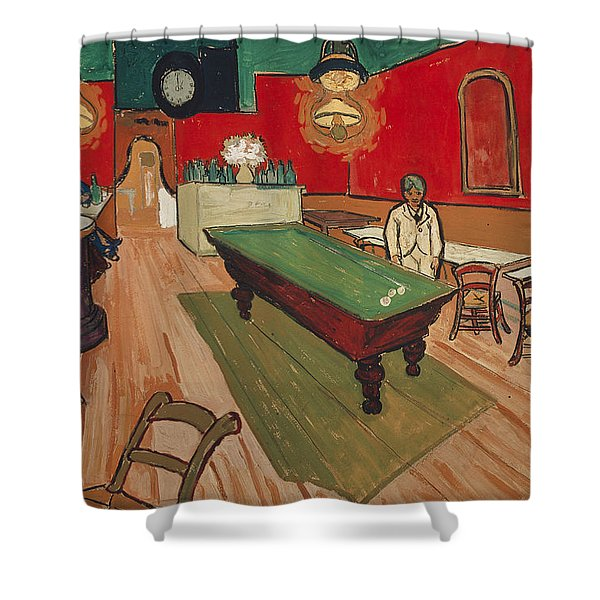 The Night Cafe In Arles Shower Curtain