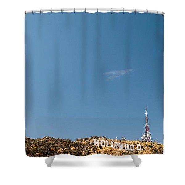 The Nora Ephron Shot - Beachwood Canyon Shower Curtain