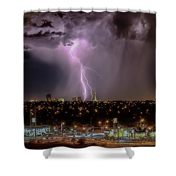 The North American Monsoon Shower Curtain