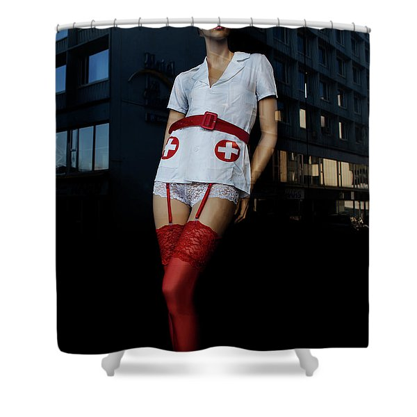 The Nurse Shower Curtain