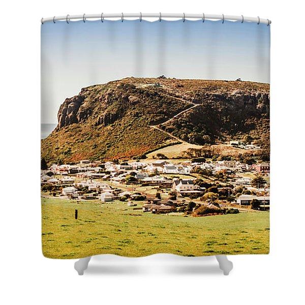 The Nut In Stanley Tasmania Shower Curtain