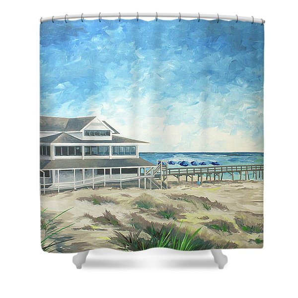The Oceanic Shower Curtain