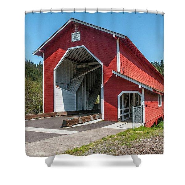 The Office Bridge Shower Curtain