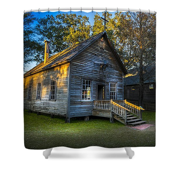 The Old Church Shower Curtain