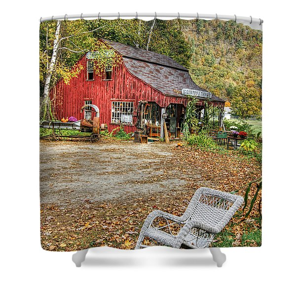 The Old Country Store Shower Curtain