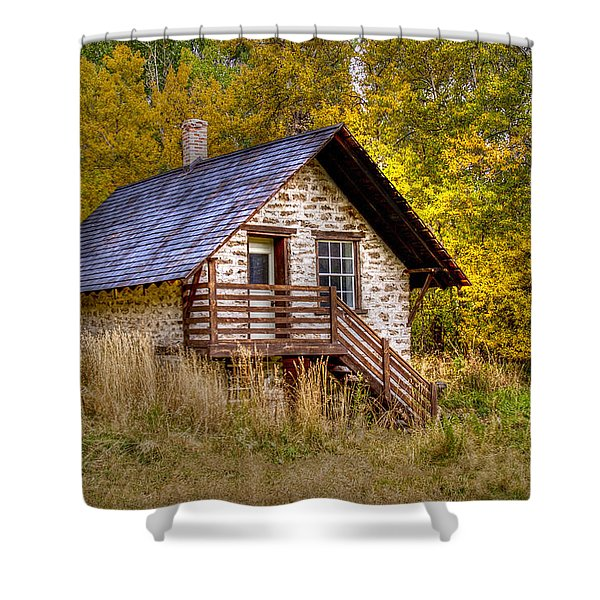 The Old Creamery Shower Curtain
