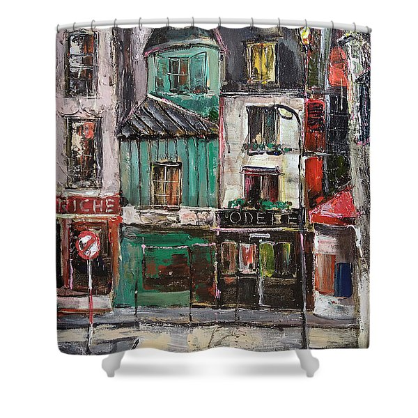 The Old District II Shower Curtain
