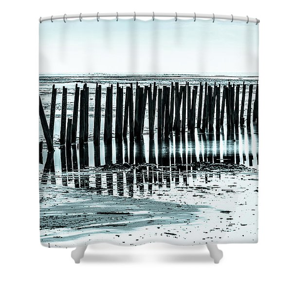 The Old Docks Shower Curtain