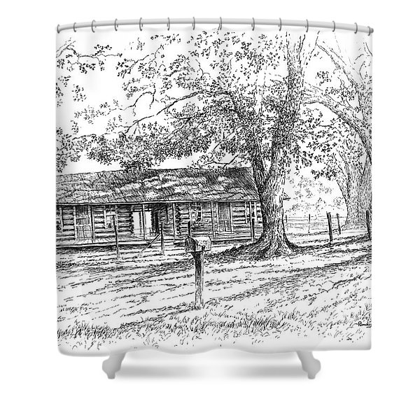 The Old Homeplace Shower Curtain