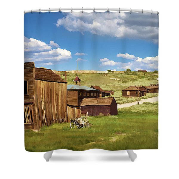 The Old Hotel Shower Curtain