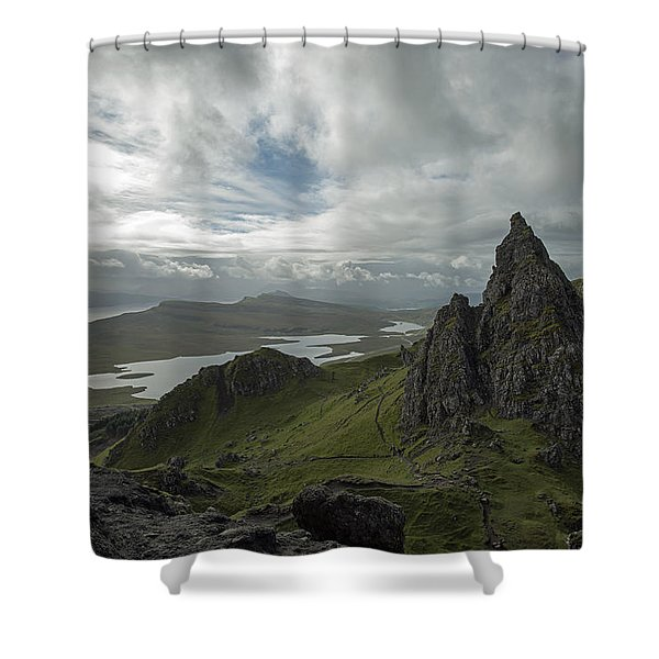 The Old Man Of Storr Shower Curtain