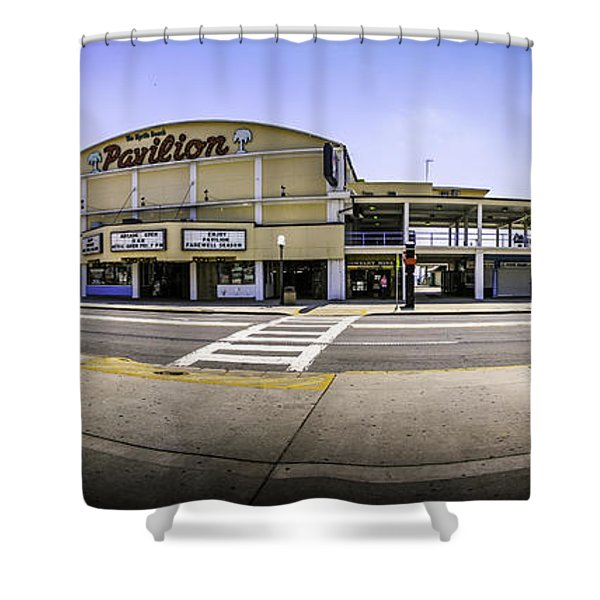The Old Myrtle Beach Pavilion Shower Curtain