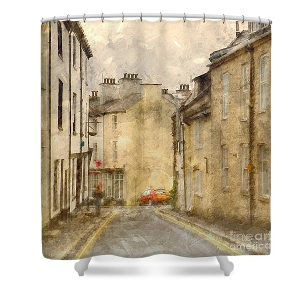 The Old Part Of Town Shower Curtain