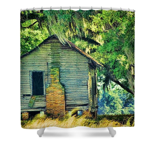 The Old Slaves Quarters Shower Curtain