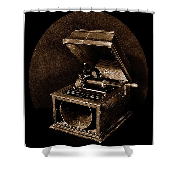 The Old Victrola Shower Curtain