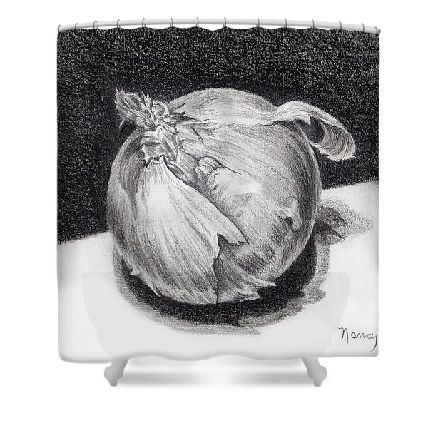 The Onion Shower Curtain