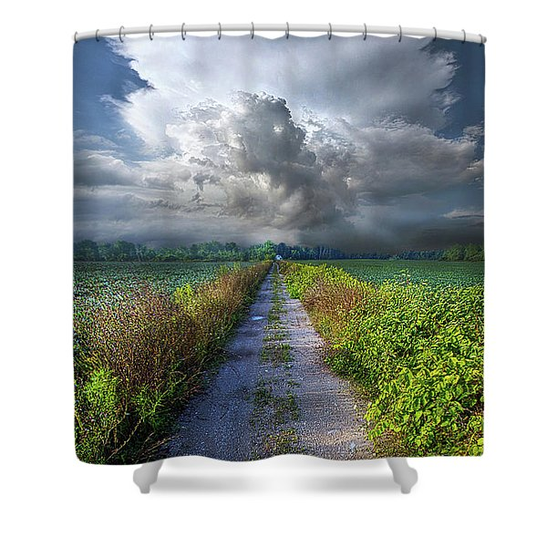 The Only Way In Shower Curtain