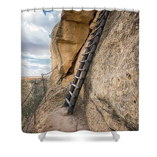 The Only Way Out Shower Curtain