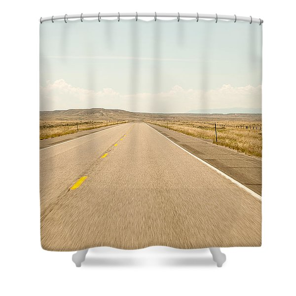 The Open Road Shower Curtain