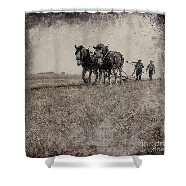The Original Horsepower Shower Curtain