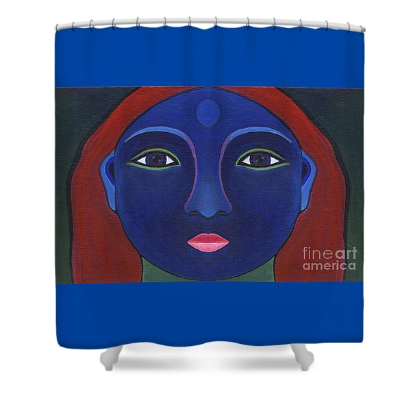 The Other Side - Full Face 1 Shower Curtain