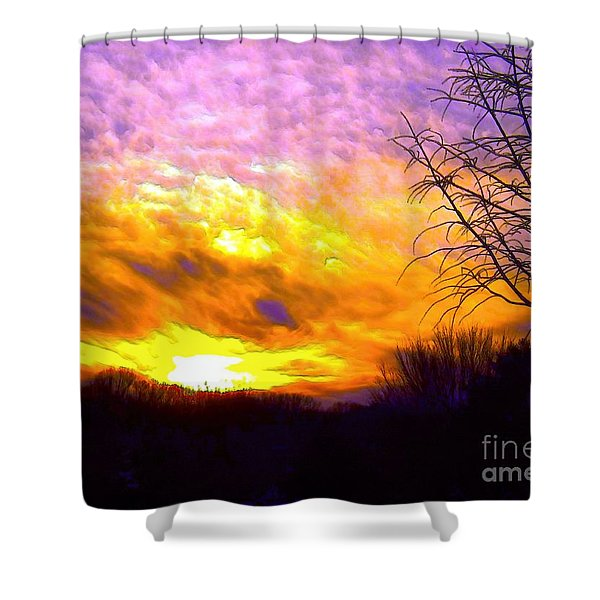 The Other Side Of The Rainbow Shower Curtain