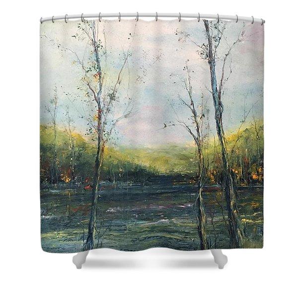 The Ouachita Shower Curtain