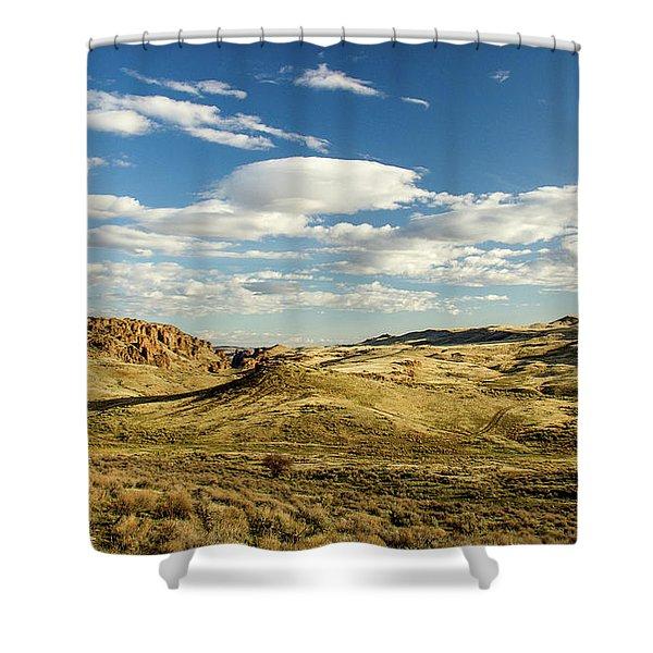 The Owyhee Desert Idaho Journey Landscape Photography By Kaylyn Franks  Shower Curtain