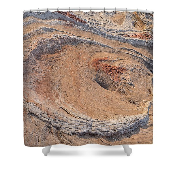 The Oyster At Sunset Horizontal Shower Curtain