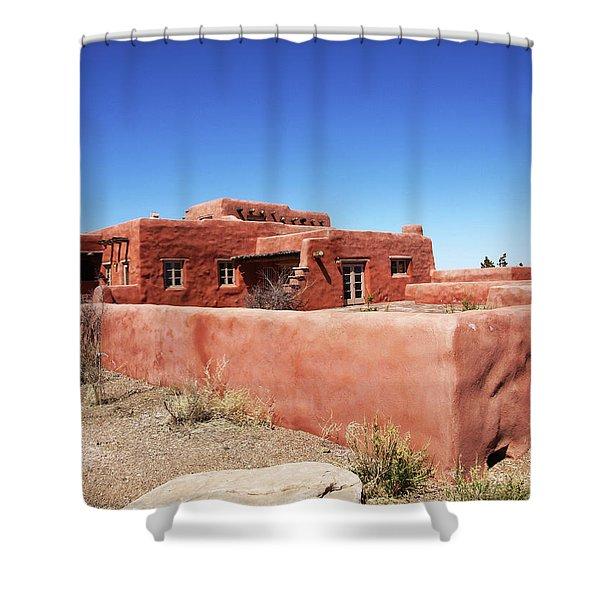 The Painted Desert Inn Shower Curtain
