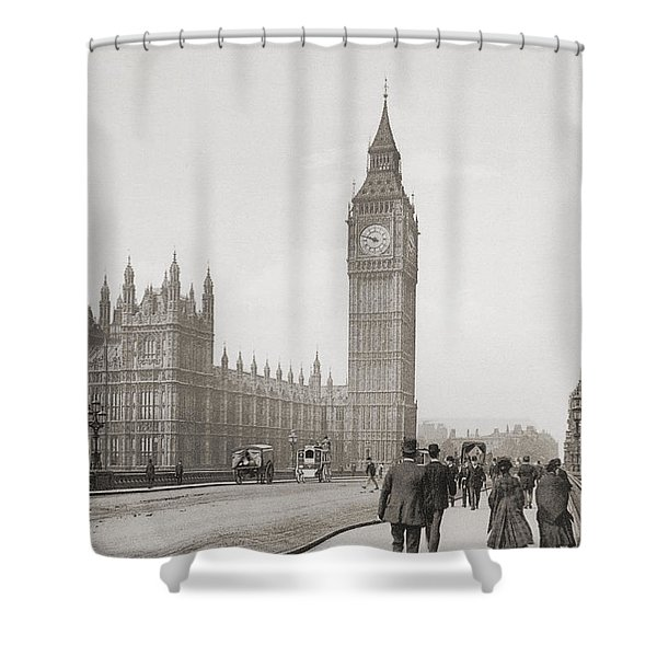The Palace Of Westminster, Aka The Shower Curtain